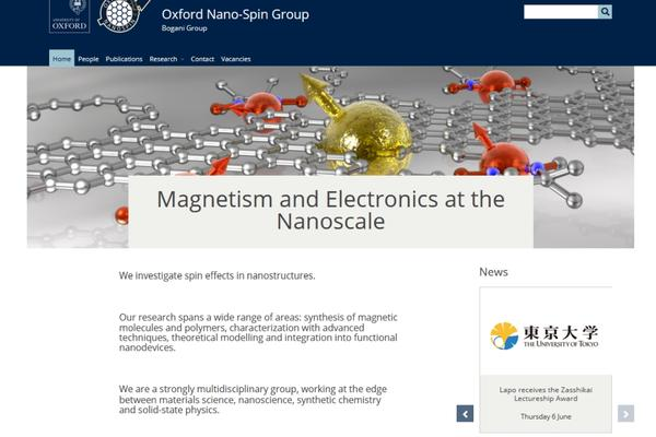 Magnetism and Electronics at the Nanoscale