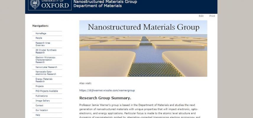 nanostructured group