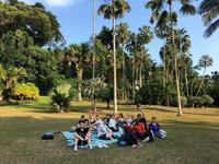 industrial tour to singapore 2019  a picnic at the singapore botanic gardens